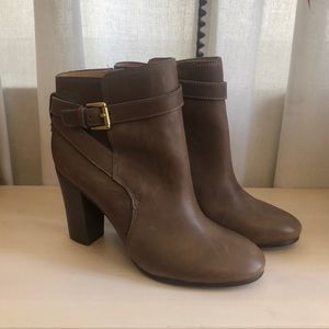 Coach Heeled Booties Tulah Size 9